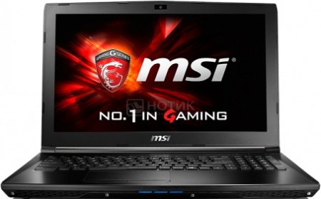 Ноутбук MSI GL62 6QD-006RU (15.6 LED/ Core i7 6700HQ 2600MHz/ 8192Mb/ HDD 1000Gb/ NVIDIA GeForce® GTX 950M 2048Mb) MS Windows 10 Home (64-bit) [9S7-16J612-006]