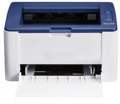 Принтер лазерный монохромный Xerox Phaser 3020BI A4, 20стр/мин, 128Мб, USB, WiFi, Белый 3020V_BI от Нотик