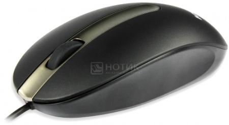 Мышь проводная Lenovo M3803, 1000dpi, Черный, 8880126010 от Нотик