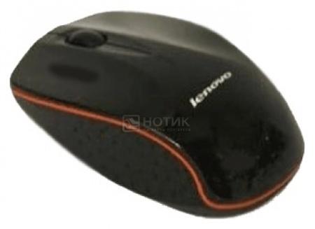Мышь беспроводная Lenovo N30A 1000dpi, Черный 888009481 от Нотик