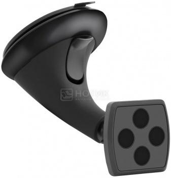 """Автомобильный держатель Deppa 55134 Crab Mage для смартфонов 3.5""""- 6"""", магнитный,Черный"""