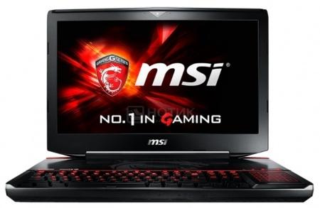 Ноутбук MSI GT80S 6QF-076RU Titan SLI (18.4 IPS (LED)/ Core i7 6820HK 2700MHz/ 32768Mb/ HDD+SSD 1000Gb/ NVIDIA GeForce® GTX 980x2 SLI 8192Mb) MS Windows 10 Home (64-bit) [9S7-181412-076]