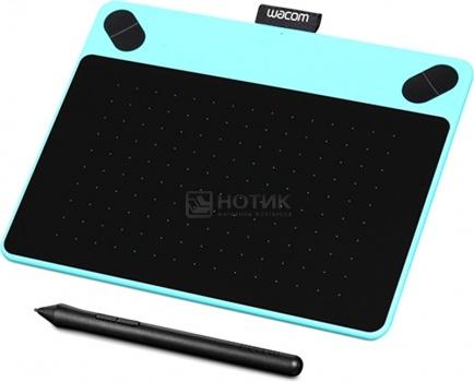 все цены на  Графический планшет Wacom Intuos Comic Pen and Touch Small, Голубой CTH-490CB-N  онлайн