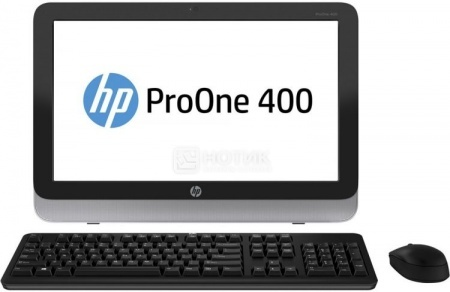 Моноблок HP ProOne 400 G1 (19.5 LED/ Core i5 4590T 2000MHz/ 4096Mb/ HDD 500Gb/ Intel HD Graphics 4600 64Mb) Free DOS [L3E58EA] от Нотик