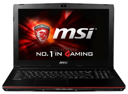 Ноутбук MSI GP62 2QE-421RU Leopard Pro (15.6 LED/ Core i7 5700HQ 2700MHz/ 8192Mb/ HDD 1000Gb/ NVIDIA GeForce® GTX 950M 2048Mb) MS Windows 10 Home (64-bit) [9S7-16J312-421] от Нотик