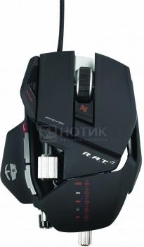 Мышь проводная Mad Catz R.A.T.7 Gaming Mouse, 6400dpi, Черный MCB4370800B2/04/1 от Нотик