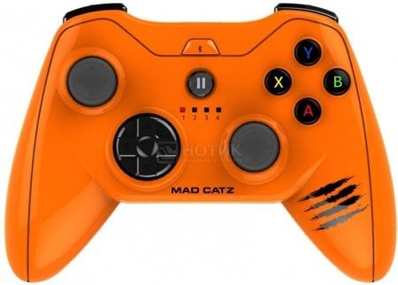 Геймпад беспроводной Mad Catz Micro C.T.R.L.i Mobile Gamepad (для iOS-устройств), Оранжевый MCB312680A10/04/1 от Нотик