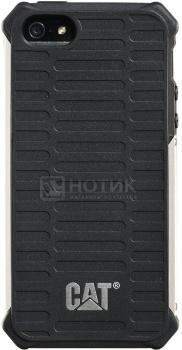 Чехол-накладка CAT Active ActiveSignature iPhone 5/5s, Металл/Поликарбонат , Черный  CSCA-BLSI-I5S-0A3 от Нотик