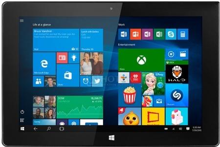 "Планшет Prestigio MultiPad Visconte 4U (MS Windows 10 Home (32-bit)/Z3735F 1330MHz/10.1"" (1280x800)/1024Mb/32Gb/ ) [PMP1011TEBK] от Нотик"