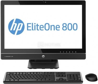 Моноблок HP EliteOne 800 G2 (23.6 LED/ Core i3 6100 3700MHz/ 4096Mb/ HDD 500Gb/ Intel HD Graphics 530 64Mb) Free DOS [T4K10EA]