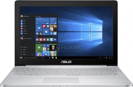 Ноутбук ASUS Zenbook Pro UX501VW (15.6 IPS (LED)/ Core i7 6700HQ 2600MHz/ 12288Mb/ HDD+SSD 1000Gb/ NVIDIA GeForce GTX 960M 2048Mb) MS Windows 10 Professional (64-bit) [90NB0AU2-M01550]
