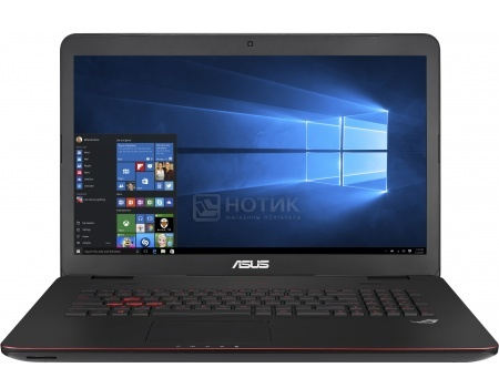 Ноутбук Asus G771JW (17.3 IPS (LED)/ Core i5 4200H 2800MHz/ 8192Mb/ HDD 1000Gb/ NVIDIA GeForce GTX 960M 2048Mb) MS Windows 10 Home (64-bit) [90NB0856-M03220]Asus<br>17.3 Intel Core i5 4200H 2800 МГц 8192 Мб DDR3-1600МГц HDD 1000 Гб MS Windows 10 Home (64-bit), Черный<br>