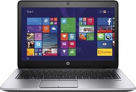 Ноутбук HP EliteBook 840 G2 (14.0 LED/ Core i5 5200U 2200MHz/ 4096Mb/ HDD 500Gb/ Intel HD Graphics 5500 64Mb) MS Windows 7 Professional (64-bit) [M3N76ES]HP<br>14.0 Intel Core i5 5200U 2200 МГц 4096 Мб DDR3-1600МГц HDD 500 Гб MS Windows 7 Professional (64-bit), Черный Металлик<br>