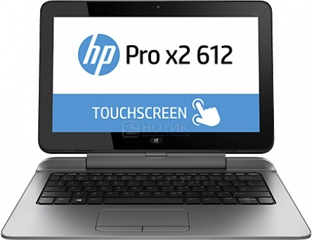 "Планшет HP Pro x2 612 G1 (MS Windows 8.1 Professional (64-bit)/4302Y 1600MHz/12.5"" (1920x1080)/8192Mb/180Gb/ 3G (EDGE, HSDPA, HSPA+)) [J9Z41AW] от Нотик"