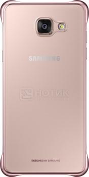 Чехол-накладка Samsung для Galaxy A5 2016 Clear Cover Поликарбонат, Розовый EF-QA510CZEGRU