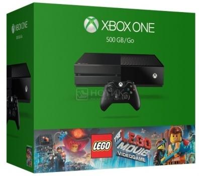 Игровая приставка Xbox One 500GB + Lego Movie 5C7-00181 Черный