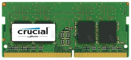Модуль памяти Crucial SO-DIMM DDR4 16GB PC4-17000 2133MHz, CT16G4SFD8213, арт: 43847 - Crucial