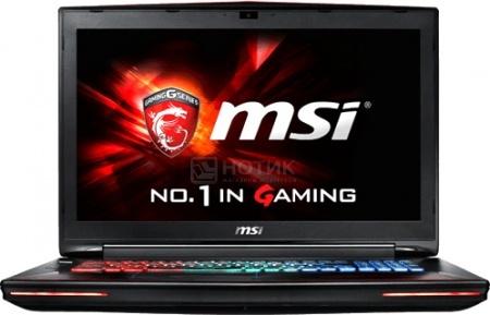 Ноутбук MSI GT72S 6QF-088RU Dominator Pro 4K Dragon (17.3 IPS (LED)/ Core i7 6820HK 2700MHz/ 32768Mb/ HDD+SSD 1000Gb/ NVIDIA GeForce GTX 980 8192Mb) MS Windows 10 Home (64-bit) [9S7-178344-088]MSI<br>17.3 Intel Core i7 6820HK 2700 МГц 32768 Мб DDR4-2133МГц HDD+SSD 1000 Гб MS Windows 10 Home (64-bit), Красный<br>