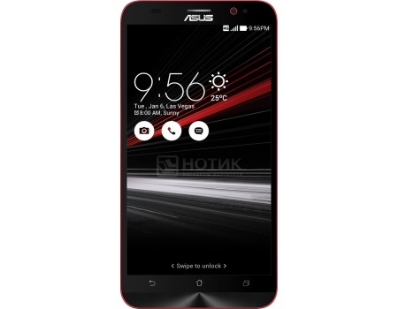 Смартфон ASUS ZenFone 2 ZE551ML Deluxe Special Edition (Android 5.0/Z3590 2300MHz/5.5 (1920x1080)/4096Mb/128Gb/4G LTE 3G (EDGE, HSDPA, HSPA+)) [90AZ00AC-M07780]