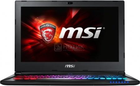 Ноутбук MSI GS60 6QD-259XRU Ghost (15.6 LED/ Core i5 6300HQ 2300MHz/ 16384Mb/ HDD 1000Gb/ NVIDIA GeForce GTX 965M 2048Mb) Free DOS [9S7-16H822-259]MSI<br>15.6 Intel Core i5 6300HQ 2300 МГц 16384 Мб DDR4-2133МГц HDD 1000 Гб Free DOS, Черный<br>