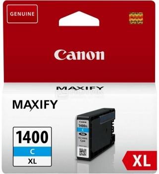Картридж CANON PGI-1400XL C Cyan для MAXIFY МВ2040/МВ2340 , Циан canon c exv29 cyan 2794b002