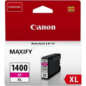 Картридж CANON PGI-1400XL M Magenta для MAXIFY МВ2040/МВ2340 , Пурпурный