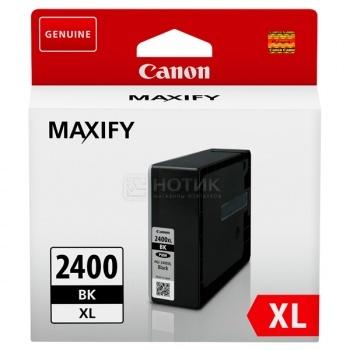 Картридж CANON PGI-2400XL BK Black для MAXIFY iB4040/МВ5040/МВ5340 , Черный