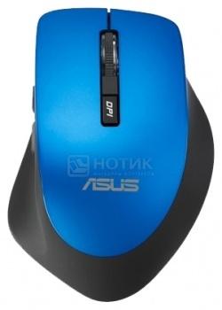 Мышь беспроводная Asus WT425, 1600dpi, Cиний 90XB0280-BMU040