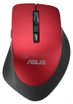 Фотография товара мышь беспроводная Asus WT425, 1600dpi, Красный 90XB0280-BMU030 (43926)