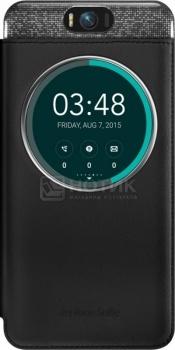 Чехол Asus ZenFone 2 Selfie MyView Cover, полиуретан/поликарбонат, Черный 90AC00X0-BCV001