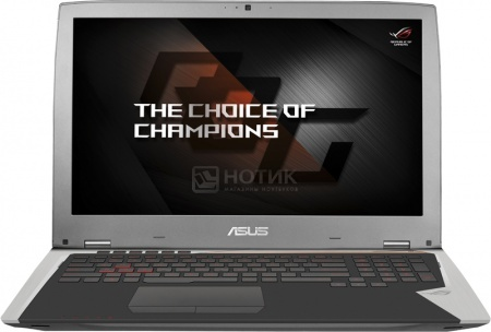 Ноутбук Asus GX700VO (17.3 IPS (LED)/ Core i7 6820HK 2700MHz/ 32768Mb/ SSD 512Gb/ NVIDIA GeForce GTX 980 0Mb) MS Windows 10 Home (64-bit) [90NB09F1-M00470]