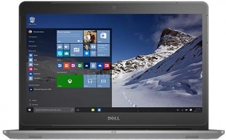 Ноутбук Dell Vostro 5459 (14.0 LED/ Core i3 6100U 2300MHz/ 4096Mb/ HDD 500Gb/ NVIDIA GeForce 930M 2048Mb) MS Windows 10 Home (64-bit) [5459-8569]Dell<br>14.0 Intel Core i3 6100U 2300 МГц 4096 Мб DDR3-1600МГц HDD 500 Гб MS Windows 10 Home (64-bit), Серый<br>