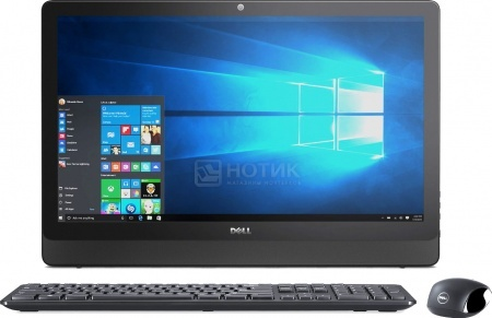 Моноблок Dell Inspiron 3459 (23.8 IPS (LED)/ Core i3 6100U 2300MHz/ 4096Mb/ HDD 1000Gb/ Intel HD Graphics 520 64Mb) MS Windows 10 Professional (64-bit) [3459-1714]