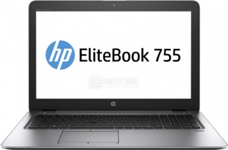Ультрабук HP EliteBook 755 G3 (15.6 LED/ A10-Series A10 Pro-8700B 1800MHz/ 8192Mb/ HDD 500Gb/ AMD Radeon R6 series 64Mb) MS Windows 7 Professional (64-bit) [P4T44EA]