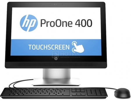 Моноблок HP ProOne 400 G2 (20.0 IPS (LED)/ Core i5 6500T 2500MHz/ 4096Mb/ HDD 500Gb/ Intel HD Graphics 530 64Mb) MS Windows 7 Professional (64-bit) [V7Q70ES]