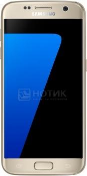 Смартфон Samsung Galaxy S7 32Gb G930FD Gold Platinum (Android 6.0 (Marshmallow)/Exynos 8890 2300MHz/5.1 2560х1440/4096Mb/32Gb/4G LTE ) [SM-G930FZDUSER]