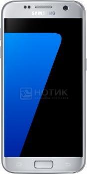 Смартфон Samsung Galaxy S7 32Gb G930FD Silver Titanium (Android 6.0 (Marshmallow)/Exynos 8890 2300MHz/5.1 2560х1440/4096Mb/32Gb/4G LTE ) [SM-G930FZSUSER]