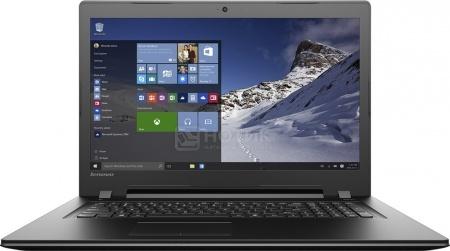 Ноутбук Lenovo IdeaPad B7180 (17.3 LED/ Core i5 6200U 2300MHz/ 4096Mb/ HDD 1000Gb/ AMD Radeon R5 M330 2048Mb) MS Windows 10 Home (64-bit) [80RJ00EVRK]