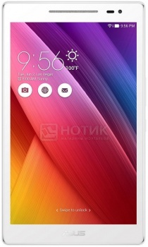 Планшет Asus ZenPad 8.0 Z380KL 16Gb (Android 5.0/MSM8916 1200MHz/8.0 (1280x800)/1024Mb/16Gb/4G LTE 3G (EDGE, HSDPA, HSUPA)) [90NP0242-M01920]Asus<br>8.0 Qualcomm 1200 МГц 1024 Мб SSD 16 Гб Android 5.0 бат. - до 10.0 ч Белый<br>
