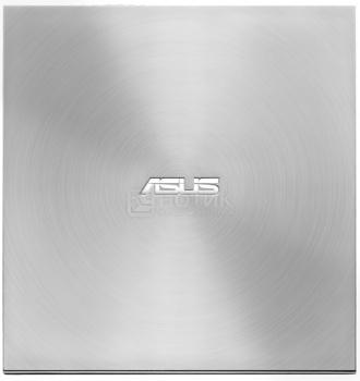 Оптический привод внешний Asus ZenDrive DVD-RW, SDRW-08U7M-U/SIL/G/AS/ , USB, Серебристый 90DD01X2-M29000