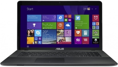 Ноутбук Asus K751SJ (17.3 LED/ Pentium Quad Core N3700 1600MHz/ 4096Mb/ HDD 1000Gb/ NVIDIA GeForce 920M 1024Mb) Free DOS [90NB07S1-M00320]