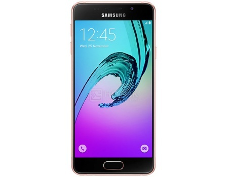 Смартфон Samsung Galaxy A3 SM-A310F Pink Gold (Android 5.1/7578 1500MHz/4.7 1280x720/1536Mb/16Gb/4G LTE  ) [SM-A310FEDDSER] samsung galaxy a3 2016 sm a310f pink gold
