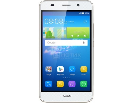 Смартфон Huawei Ascend Y6 White (Android 5.1/MT6572 1100MHz/5.0