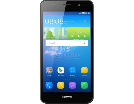 Смартфон Huawei Ascend Y6 Black (Android 5.1/MT6572 1100MHz/5.0