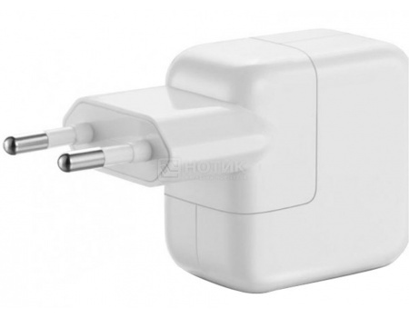 Сетевое зарядное устройство Apple 12W USB Power Adapter для iPad/iPhone , Белый MD836ZM/A