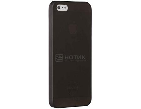 Чехол-накладка для iPhone 5/5S Ozaki O!coat 0.3 Jelly, Пластик, Черный OC533BK