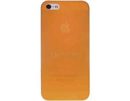 Чехол-накладка для iPhone 5/5S/SE Ozaki O!coat 0.3 Jelly, Пластик, Оранжевый OC533OG