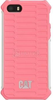Чехол-накладка CAT Active Urban для  iPhone 5/5S Металл/поликарбонат, Pink, Розовый CUCA-PISI-I5S-0A3 от Нотик