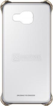 Чехол-накладка Samsung Clear Cover для Samsung Galaxy A310F, Поликарбонат, Gold, Золотистый, EF-QA310CFEGRU