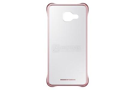 Чехол-накладка Samsung Clear Cover для Samsung Galaxy A310F, Поликарбонат, Pink, Розовый, EF-QA310CZEGRU